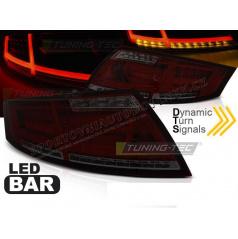 Audi TT 04.2006-02.2014- zadní lampy red smoke LED BAR (LDAUD2)