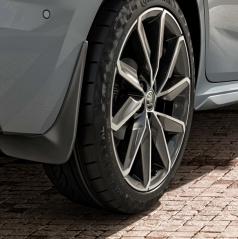 Originální zadní lapače nečistot Škoda Kamiq