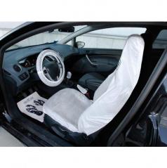 Ochranné návleky u řidiče (kryt sedadla, volantu, ruční brzdy, řadící páky a  podlahy)
