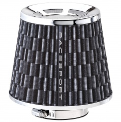 Sportovní vzduchový filtr karbon II +redukce 60-85 mm