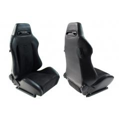 Sportovní polohovatelná sedačka Monza R černá