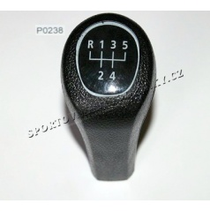 Hlavice řadící páky černá BMW 3,5,7 (E34,36,38,39,46)  typ II