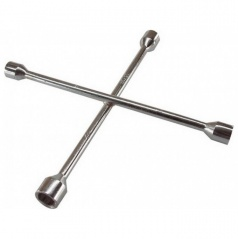 Klíč na kola křížový chrom 17,19,21 a 23 mm