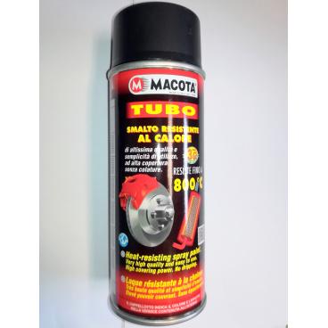 Žáruvzdorná barva sprej Macota 400 ml do 800 C černá (brzdy motor, výfuk)
