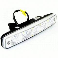 Světla pro denní svícení rovné 2x5W 189x28x39 mm