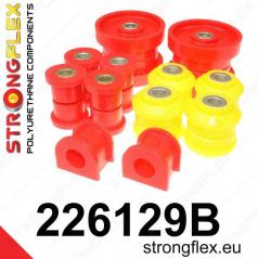 Audi TT 1999-06 StrongFlex sestava silentbloků jen pro zadní nápravu 8 ks