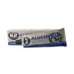 K2 ALUCHROM - pasta na čištění a leštění kovových povrchů 120 g