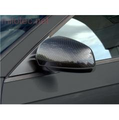 Kryty zrcátek Milotec - ABS karbon, Škoda Superb Facelift