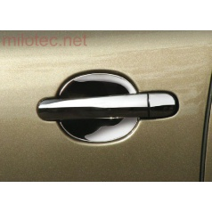 Kryty pod kliky - malé, ušlechtilá ocel (2 ks), Roomster • Citigo