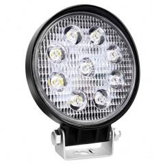 Světlo pracovní kulaté 9 LED 110x110 m 35W FLAT 9-36V