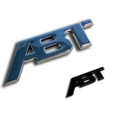 ABT Sportsline - chromové / černé logo 115x45 nebo 77x30 mm
