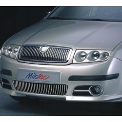 Lišty předního nárazníku - Škoda Fabia I. Facelift Lim./Combi/Sedan 2004-2007