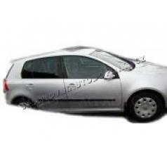VW Golf V, 2003-2008, hatchback, boční ochranné lišty dveří