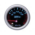 Přídavný budík Race Sport Voltmeter 52 mm černý