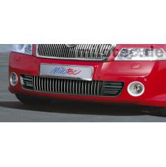 Nerez lišty spodní mřížky 23 ks Octavia II RS Lim./Combi 11/05 ->