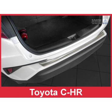Nerez kryt- ochrana prahu zadního nárazníku Toyota C-HR 2016+