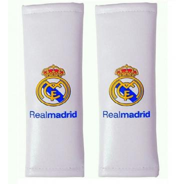 Originální návleky na pásy REAL MADRID bílé