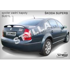 ŠKODA SUPERB spoiler zad.  kapoty SU01L (EU homologace)