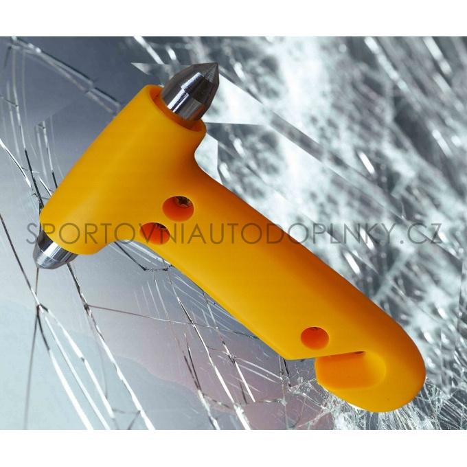 Bezpečnostní kladívko a nůž