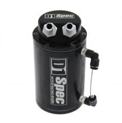Alu nádoba na přebytečný olej D1 SPEC černá vstup/výstup 15 mm