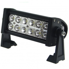 LED rampa  2-řadá 36W 27X11 cm