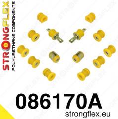 Honda Civic 2001-05 StrongFlex Sport sestava silentbloků jen pro zadní nápravu 14 ks