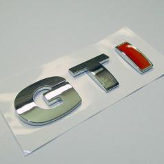 Znak GTI samolepící pro koncernové vozy VW  RED