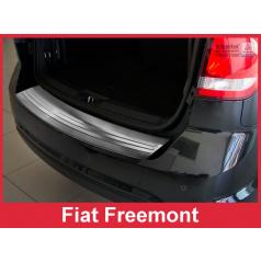 Nerez kryt- ochrana prahu zadního nárazníku Fiat Freemont 2011+