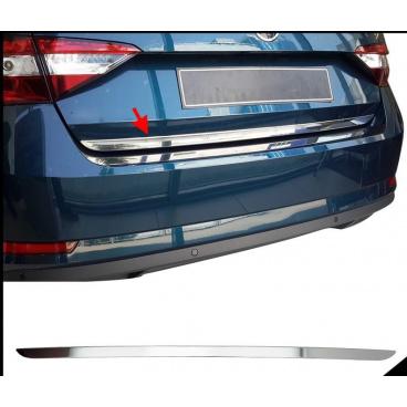 Nerez hrana zadního kufru s podlepením Škoda Superb III 2015+ sedan Omtec