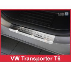 Nerez ochranné lišty prahu dveří 2ks Speciální edice Volkswagen Transporter T6 2010+