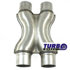 Nerez X výfukové redukce TurboWorks
