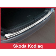 Nerez kryt- ochrana prahu zadního nárazníku Škoda Kodiaq 2016+