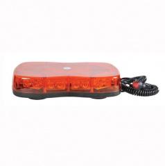 Maják multifunkční 12/24V oranžový TIR LED