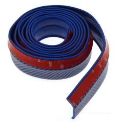 Univerzální spodní pružný  lip s podlepením modrý  karbon vzor