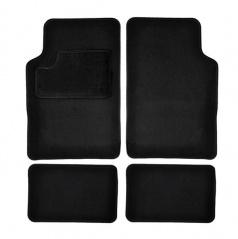 Autokoberce textilní černé pro celé auto II