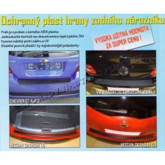 OCHRANNÝ PLAST HRANY ZADNÍHO NÁRAZNÍKU VW PASSAT 3C LIMOUZINE 2005+