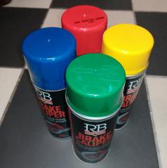 Colorit barva na brzdiče červená, modrá, žlutá, zelená 400ml