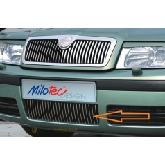 Lišty předního nárazníku, Octavia I Lim./Combi Facelift 09/00 ->, Octavia I RS Lim./Combi 05/01 ->