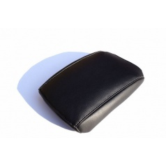 Škoda Octavia III kožený potah loketní opěrky Jumbo Box white