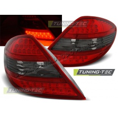 Mercedes R171 SLK 2004-2011 zadní LED lampy red smoke (LDME57)