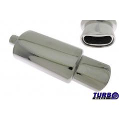 Sportovní výfuk TurboWorks oválná koncovka (63 mm vstup)