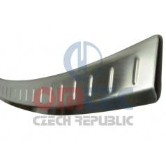 Audi Q7 2006+  - NEREZ ochranný panel zadního nárazníku RS6 BRUSHED - OMTEC