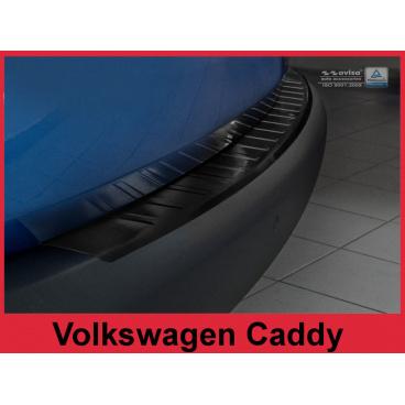 Nerez kryt- ochrana prahu zadního nárazníku Volkswagen Caddy 2003-16