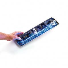 Led osvětlení 2x30cm modré (interiér, exteriér)