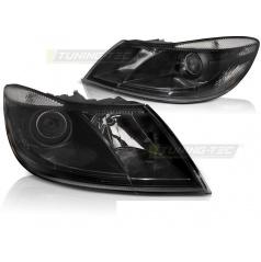 Škoda Octavia II 2009-12 přední světla black