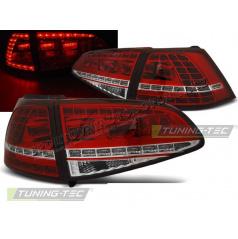 VW Golf 7 2013- zadní lampy red white LED GTI Look (LDVWG0)