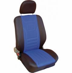 Autopotahy Classic-Škoda Fabia I-nedělená zadní sedačka-modré