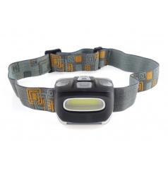 Svítilna - čelovka LED COB Headlamp 3xAAA 150Flux IPX3