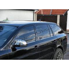 NEREZ chrom spodní lišty oken - OMSA LINE Škoda Octavia II Combi 04-12