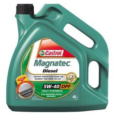 Motorový olej Castrol Magnatec 5W-40 Diesel B4/DPF - 4 litry
